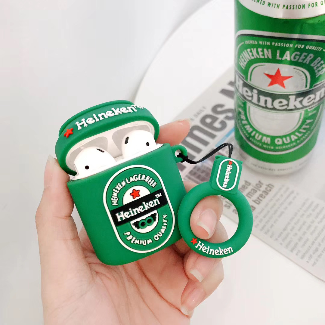 Heineken Can Protective Airpod Case